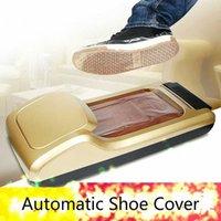29% automático Tapa de la zapata de membrana Dispensador de cubierta de zapatos Sole portátil para Hogares de Hotel Oficina de horario de Trabajo de la máquina H2kI #