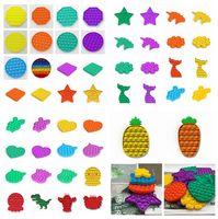 Pop Fidget Toy Sensory Push Pop Pop Bolha Fidget Toy Sensory Autismo Especial Necessidades de Ansiedade Relisor para Estudantes Cyz2973