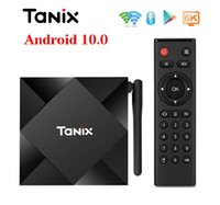 1 pedaço! Tanix TX6S Android 10,0 OTT TV Box 4GB + 32GB / 64GB Allwinner H616 dupla WiFi 2.4G + 5G Com BT Smart Box TV