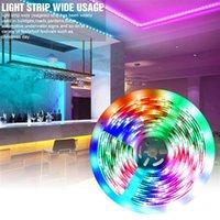 12V-5050 RGB Wifi Télécommande 10 mètres 24 Clés 300 lumières (40W) Light Strip double disque