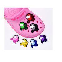Neue Jungen Mädchen Lchildren Cartoon PVC Schuh Charms Schuhschnallen Action Figure Fit Armbänder Croc Jibz Schuh Zubehör Kinder Geschenk