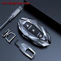 Smart Key Case Cover Cover Клазочки FOB Для Chevrolet Chevy Camaro Cruze Malibu Orlando Equinoxtracker Автомобильные аксессуары