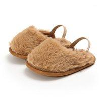 First Walkers Fashion Faux Fourrure bébé Chaussures bébé Mignon bébé garçons filles Sold Sole Sold Indoor1