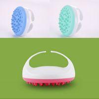 3D Silicone Dentate Scolap spazzola cervicale vertebra sacrum massaggiatore di bellezza salone spazzole comodo vendita calda 9NB O2