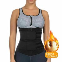 Uomini Cintura Sweat Shaper corpo in neoprene Sport del corsetto Vita Sauna Donne Belly Trainer Body Slim Shaper Tummy Banda Gym