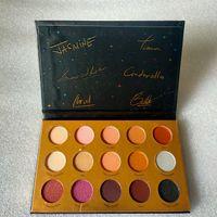 Цветная тень для глаз Цвет 15 цветов тени для век Blush Shimmer матовая палитра
