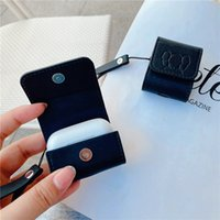 Designer AirPods Case Trend Printing Bluetooth Earphone Protective Cover Suitable for AirPods1 2 Pro 3 Case New Leather Wholesale--