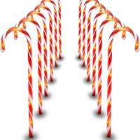 Fengreise Рождество Candy Cane Merry Рождественские украшения для домашнего рождества Navidad Noel подарки Рождественские украшения Новый год 2021 201028