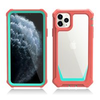 Transparent Clear Full Body Protection Rugged Case for iphon...