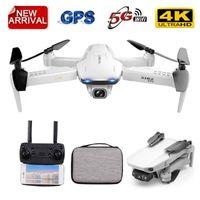 GOOLRC S162 RC Дрон с камерой 4K Регулируемый широкоугольный 5G Wi-Fi GPS жест фото Видео FPV RC Quadcopter Следуйте за мной Mini Dron1