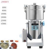 400G-4500G Molinillo seco eléctrico Granos de grosero Máquina Máquina de molienda Especias de alta velocidad Cereales Crusher Swing Type1