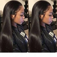 Lace Front Human Hair Wigs Pre Plucked 13x4 Brazilian Hd Frontal Straight Lace Front Wig Human Hair Wigs Glueless Full Lace Wigs
