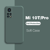 Mi 10TPRO M10T MI 10T Pro لايت 5 جرام حالة غطاء حماية سيليكون السائل ل Xiaomi mi 10T Pro MI10T Pro 10 T Lite Case