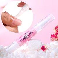Lagunamoon 5ml Rose lukt Snabba absorption Nail Cuticle Oil Dead Skin Remover Softener Cuticle Nourish Toes Skin Ship From UK
