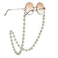 Nueva llegada de las lentes de lujo hermosa cadena artificial de perlas con cierre de langosta For All-Purpose Gafas Cadenas