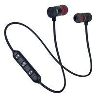 سماعات لاسلكية سماعة بلوتوث الرياضة Neckband المغناطيسي سماعات HD ستيرو الموسيقى سماعات للهواتف الذكية