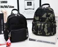 2021 Mode Mädchen Rucksack Doppel Reißverschluss echtes Leder Schultergurt Mobiltelefon Tasche Münze Geldbörse Reisen