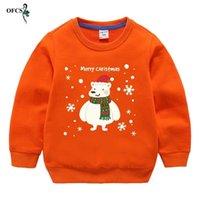 Kinder Weihnachtsgeschenke Jungen Strick Pullover Pullover Mädchen Kinder Blau T-Shirt Baumwolle Pullover Tops für Baby Bunte Kleidung 12 LJ200831