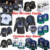 2020 Vancouver Canucks Hockey Jerseys All-Star Womens 30 Louis Domingue 73 Tyler Toffoli Elias Pettersson Brock Boeser Adam Gaudette