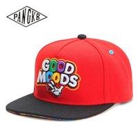 PANGKB Marca buon umore tappo rosso cappello di cotone di Hip Hop di snapback per gli uomini donne adulti basket all'aperto berretto da baseball casuale sole 201023