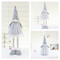 Christmas Faceless Telescopic Rod Doll Merry Christmas Decorations For Home Christmas Ornaments Xmas Navidad New Year 2021 201102