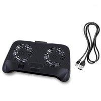 Dizüstü Soğutma Pedleri Cep Telefonu Soğutucu Fan Genel Oyunu Isı Lavabo Radyatör Adaptörü Sticker Için Çift Telefon1