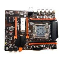 2011 V3 Placa base de la computadora X99 ECC SATA 3.0 M.2 NVME SSD USB 3.0 DDR4 MEMORY 35EA