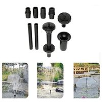 معدات سقي متعددة الوظائف نافورة المياه الرش رذاذ رئيس مجموعة دش مضخة حديقة ديكور الفطر home1