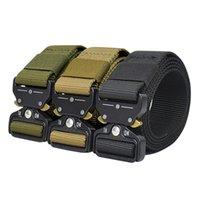 الخصر دعم ActionUnion التكتيكية حزام معدني مشبك النايلون قابل للتعديل أحزمة الثقيلة القتال التدريب الصيد في الهواء الطلق