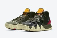 Hot Authentic Kybrid S2 What The Kyrie Basketball Shoes Multi Color Graffiti Men Sneakers With Original Box