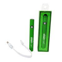 Smart Vertex Vape Batterie Kit de chargeur USB 380MAH 510 Filetage Préchauffer Vaporisateur E Cigarettes Batterie Batterie VV Batteries pour atomiseurs