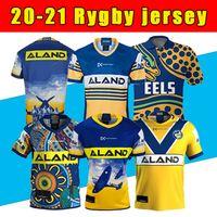 Parramatta Enguias Anzac Comemorativa Edição Rugby Jersey Camisa Indígena Jersey Camisa Austrália Nrl Rugby League Jerseys 2020