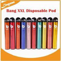 Bang XXL одноразовые POD устройства 800mah 2000Puff XTRA предварительно заполненный 6 мл Vape Stick Peen Portable Mini Pauro System против Puff XXL Airis XL Puff Xtra