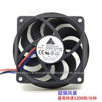 Вентиляторы Охлаждения Delta 7CM 7015 для AMD Оригинальный CPU Cooler Двойной шаровой вентилятор AFB0712HHB