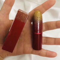 M AC Natale limitata Editioin rossetto opaco in 2 colori Chili Lady Bug Lip Color Gloss Lipgloss