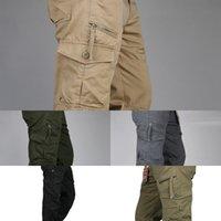 Icpans 2019 Taktik Pantolon Erkekler Askeri Ordu Siyah Pamuk IX9 Fermuar Streetwear Sonbahar Tulum Kargo Pantolon Erkekler Askeri Stil J1218