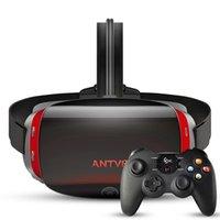 "Antvr Virtual Reality PC سماعات VR نظارات 5.5 ""شاشة ثنائية OLED VR Helmet مع X-Box متوافق مع Ple Steam Playform LJ200919"