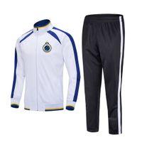 takım elbise açık eğitim Running 20-21 Brügge Futbol Takımı Üst Futbol spor Çocuklar futbol eşofman Erkekler Sportwear setleri