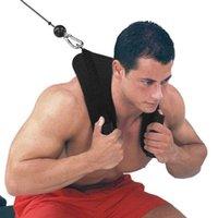 Faixas de resistência ginásio aptidão abdominal crunch u forma de aderência dupla punho puxar cinto de ombro