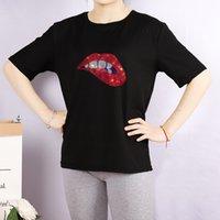 여자 DIY T 셔츠 여성 패션 라인 석 입 패턴 셔츠 통기성 캐주얼 여성 티 사용자 정의 플러스 사이즈 M-4XL A756 탑
