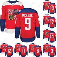 2016 كأس العالم من الهوكي جمهورية التشيك فريق جيرسي 3 جوداس 9 ميشالك 11 هانزال 12 فاسا 14 Plekanec 18 Palat 23 Jaskin 31 Pavelec Jerseys