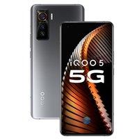 "Original Vivo iQOO 5 5G Handy 12GB RAM 128 GB 256 GB ROM Snapdragon 865 Octa Kernandroid 6,56"" 50MP Face ID Fingerabdruck-ID-Handy"