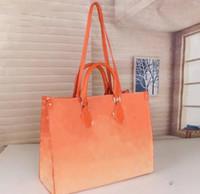 2021 Yeni Moda Bayanlar Degrade Renk Çanta Çantalar Çapraz Vücut Debriyaj Messenger Alışveriş Çantası Omuz Çantası