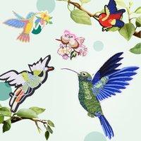 Neue Papagei Vogel Wärmeübertragungen Eisen auf Patches für Jeans T-Shirt DIY Handwerk Aufkleber Anwendungen Für Kleidung Dekorativ