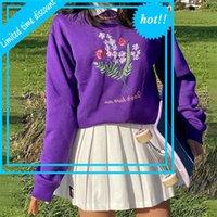 Женщины 2020 Restore Streetwear для девочек-подростков Harajuku O Сречка Y2K Эстонская толстовка 90S наряд
