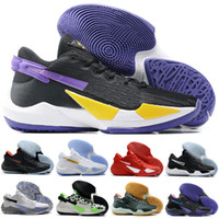 Yeni Zoom Freak 2 Naija EP Bamo Erkek Basketbol Ayakkabıları Giannis Antetokounmpo 2 S Siyah Beyaz Kırmızı Erkekler Açık Spor Eğitmenleri Sneakers