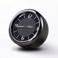 Horloge de voiture Réaménagement Intérieur Lumineux Electroniques Quartz Ornements Auto Montre Air Vent Sortie Clip Mini Automobile Time Décoration1