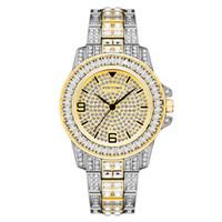 Pintime-Relojes Sencillos de acero para Hombre, Reloj de Pulera de Cuarzo, Militar, Résistente Al Agua, Masculino