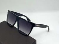 0709 Moda Gafas de sol Plaza Marco Tendencia Avant-Garde Estilo Hombres y Mujeres Top Calidad Lity Best-Selling Best-Selling UV400 Noble Glasses