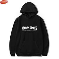 Luckyfridayf Harry Styles Trate personas con amabilidad Imprimir sudaderas con capucha Mujeres / Hombres Moda Streetwear Sudadera con capucha Sudaderas Casuales 201017